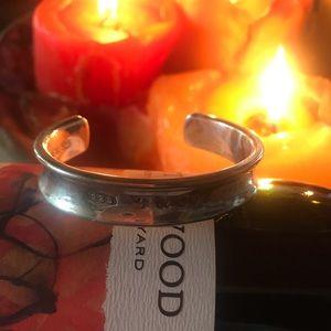 Tiffany&co Sterling Silver heavy Cuff bracelet